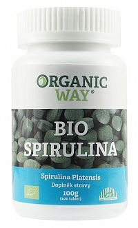 Organic Way Bio Spirulina 100g (400 tabliet)