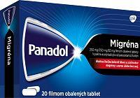 Panadol Migréna 250 mg/65 mg, 20 tabliet