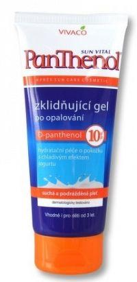 Panthenol gél 10% tuba, 200ml