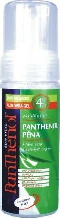 Panthenol - pena 4% aloe vera, 150ml