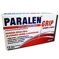 PARALEN GRIP chrípka a bolesť tbl flm 1x12 ks