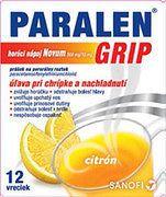 PARALEN GRIP horúci nápoj Novum 500 mg/10 mg plo por vrecúška 1x12 ks
