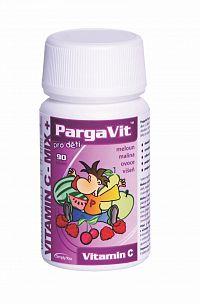 PargaVit VITAMÍN C Mix Plus Pre deti 90 tbl