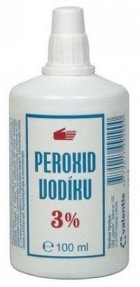 Peroxid vodíka 3% liq 1x100 ml