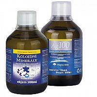 Pharma Activ Aktívne minerály extra AKCIA 300ml + Koloidné striebro Ag100 10ppm 300ml