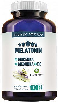 Pharma Activ MELATONIN + Mučenka + Meduňka + B6 100ks