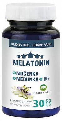 Pharma Activ MELATONIN + Mučenka + Meduňka + B6 30ks