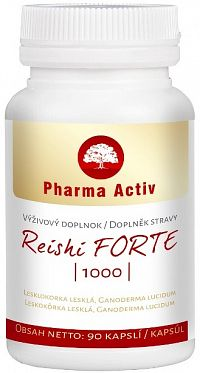 Pharma Activ Reishi forte 1000 90 cps.
