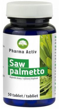 Pharma Activ Saw palmetto tbl 1x50 ks