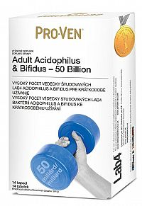 Pro-Ven Adult Acidophilus & Bifidus 50 Billion 14ks