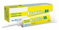PROKTIS-M PLUS rektálna masť na hojenie rán s obsahom kyseliny hyalurónovej 30g