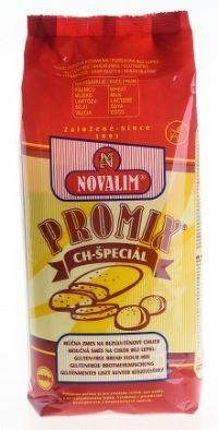 PROMIX-CH špeciál, múčna zmes na bezlepkový chlieb bez mlieka, laktózy a sóje 1000 g