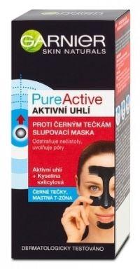 PUREACTIVE Slupovací maska proti černým tečkám s aktivním uhlím