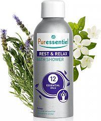 Puressentiel Rest & Relax Bath & Shower with 12 essential oils - 100 ml Koupel pro relaxaci 12 esenc