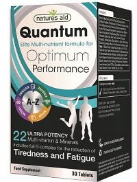 QUANTUM High Potency Multivitamín & Minerály 30 tabliet