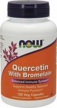 QUERCETIN+BROMELAIN 120CPS  NOW