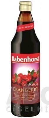 Rabenhorst Brusnicová šťava 1x750 ml