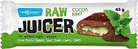 RAW JUICER Cocoa & mint kakaovo-oriešková tyčinka s mätovou náplňou 1x45 g
