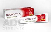 RECTOVENAL ACUTE anorektálny gél na hemoroidy, s aplikátorom 1x20 g