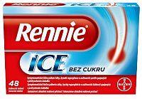 Rennie ICE bez cukru 48 tabliet
