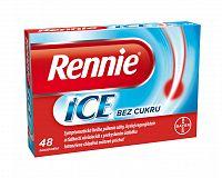 Rennie ICE bez cukru, žuvacie tablety 48ks