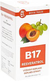 Resveratrol Boos B17 80 kapsúl