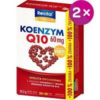 Revital KOENZÝM Q10 60 mg+VITAMÍN E + SELÉN FORTE DUOPACK cps 2x60