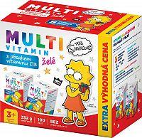 Revital MULTIVITAMÍN The Simpsons želé2x50
