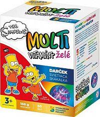 Revital MULTIVITAMÍNY The Simpsons želé 50 ks + Darček svietiaca skákalka, 1x1 set