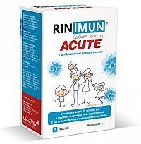 RINIMUN ACUTE vrecúška, 7 dní bioaktívnej podpory imunity 1x7 ks