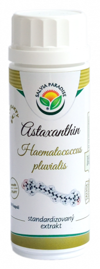 Salvia Paradise Astaxantín štandardizovaný extrakt 100 kapsúl
