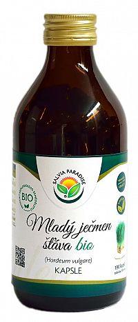 Salvia Paradise Mladý jačmeň šťava BIO 190 kapsúl