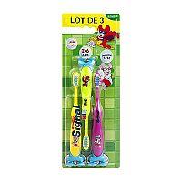 Signal KIDS 3-pack detské zubné kefky 3 ks