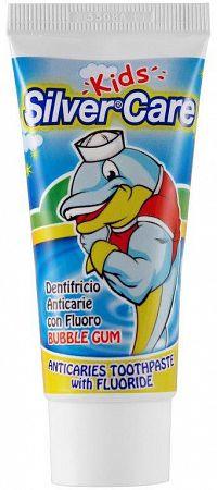 Silver Care Zubná pasta junior Bubble gum 50ml