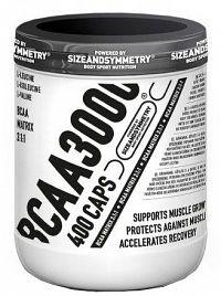 SizeAndSymmetry Nutrition BCAA 3000 400 kapslí