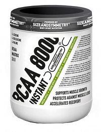 SizeAndSymmetry Nutrition BCAA 8000 Instant Powder zelené jablko 300 g