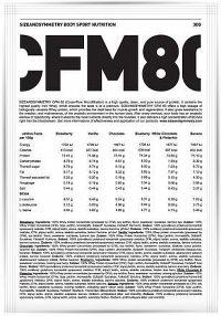 SizeAndSymmetry Nutrition Whey Protein 80 CFM vanilka 30 g