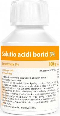 Solutio acidi borici 3% 100g