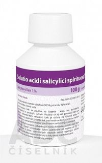 Solutio acidi salicylici spirituosa% sol der 100 g