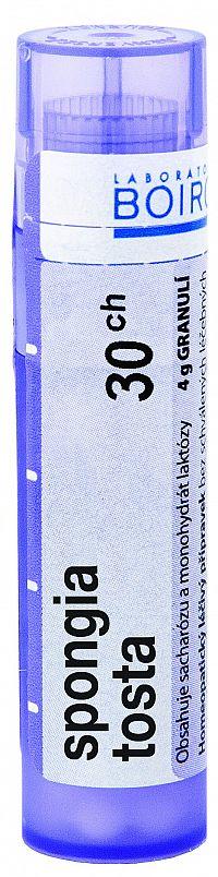 Spongia Tosta CH30 granule 4g