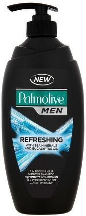 Sprchovací gél Palmolive For Men BLUE Refreshing pumpa 750ml