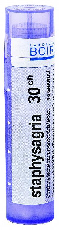 Staphysagria CH30 granule 4g