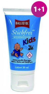 Sting-Free KIDS BALLISTOL telové mlieko tuba 30ml 1+1