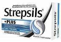 Strepsils Plus pastilky 24 ks