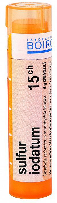 Sulfur Iodatum CH15 granule 4g