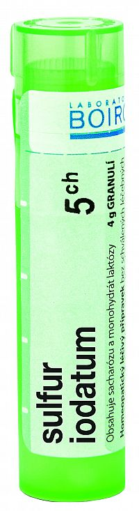Sulfur Iodatum CH5 granule 4g