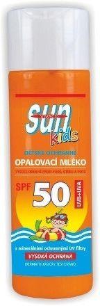 SUN BETAKAROTÉN KIDS opaľovacie mlieko SPF50, 200ml