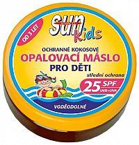 SUN coconut oil opaľovacie maslo KIDS SPF 25 200ml