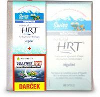 Swiss Natural HRT 60 kapsúl + Naturevia SLEEPNOX forte 30 kapsúl