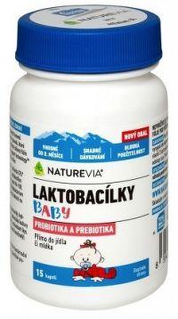 SWISS NATUREVIA LAKTOBACILKY BABY cps 1x15 ks